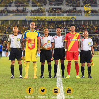 Zesh as Pahang Captain