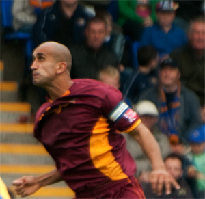 Zesh as Bradford City Captain